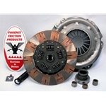 01-026.3C Stage 3 Ceramic Clutch Kit: AMC AMX Javelin, Jeep CJ DJ J Series Jeepster - 10-1/2 in.