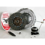 01-033.2DF Stage 2 Dual Friction Clutch Kit: Jeep Cherokee Comanche Wagoneer Wrangler 2.5L - 9-1/8 in.