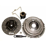 01-035.2DF Stage 2 Dual Friction Clutch Kit: Jeep Cherokee Comanche Wagoneer Wrangler - 10-1/2 in.