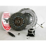 01-036.2DF Stage 2 Dual Friction Clutch Kit: Jeep Cherokee Wrangler 1993 2.5L - 9-1/8""
