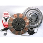 01-037.2DF Dual Friction Clutch Kit: Jeep Cherokee Wrangler 4.0L 1993 - 10½""