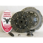 01-040.2DF Stage 2 Dual Friction Clutch Kit: Jeep Cherokee Wrangler 2.5L - 9-1/8""