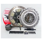 02-040CK.2K Solid Flywheel Stage 2 Kevlar Clutch Conversion Kit: Volkswagen Golf Jetta 2.8L 2002 - 2005 - 9-1/2 in.