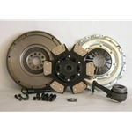 02-040CK.3C Solid Flywheel Stage 3 Ceramic Clutch Conversion Kit: Volkswagen Golf Jetta 2.8L 2002 - 2005 - 9-1/2 in.