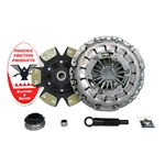 02-041.2K Stage 2 Kevlar Clutch Kit: Audi S4 Avant 2.7L Turbo - 9-1/2 in.