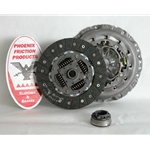 02-205 Clutch Kit: Audi A4, A4 Quattro 3.1L - 9-1/2 in.