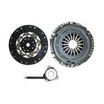 02-207 Clutch Kit: Audi A3 2.0L Turbo - 9-1/2 in.