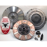 04-064iF.2DF Stage 2 Dual Friction Clutch Kit including Flywheel: GM Pickups, SUVs, & Van - 12 in.