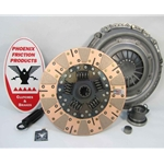 05-065.2DF Stage 2 Dual Friction Clutch Kit: Dodge Dakota, Van, Jeep Cherokee, Grand Cherokee, Wagoneer, Wrangler - 10-1/2 in.