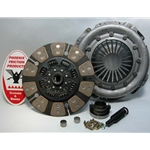 05-073.4C Stage 4 Heavy Duty Ceramic Clutch Kit: Dodge Pickups 5.9L Cummins Diesel - 12-1/4 in.