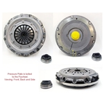 05-084iF Clutch Kit including flywheel: Chrysler, Dodge, Eagle, Mitsubishi, Plymouth Cars - 9 in.