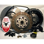 05-124CK.3 Stage 3 Extra Heavy Duty Organic Solid Flywheel Conversion Clutch Kit: Dodge Ram 2500, 3500, 4500, and 5500 G56 6 Speed Transmission - 13 in.