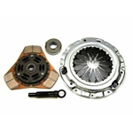 05950 Exedy Stage 2 Ceramic 3 Paddle Racing Clutch Kit: Chrysler, Dodge, Eagle, Mitsubishi, Plymouth - 8-7/8 in.