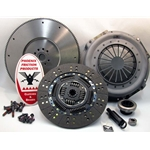 07-131CK Clutch and Solid Flywheel Kit: Ford 7.3L Diesel VIN M F250 F350 F450 Pickup 1987 - 1994 - 12-1/4 in.