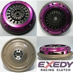 HH04SD1 Exedy Ceramic 6 Paddle Racing Clutch Kit including Steel Flywheel: Acura NSX - 9 in.