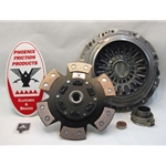 15-102.3C Stage 3 Ceramic Button Clutch Kit: Subaru Impreza, Impreza WRX-STi - 9-1/2 in.