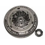 17-059iF Clutch Kit with Flywheel: Audi TT Coupe, VW Beetle, Golf, Jetta 1.8L Turbo 5 Speed - 8-7/8 in.