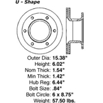 BR 79017 A high quality, direct fit OE replacement brake disc.
