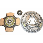 107350-4 New Eaton Fuller 14 in. (350mm) Angle Ring 1-1/2 in. Spline 4 Ceramic Super Button Mack Midliner Clutch Set