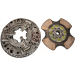 107621-1 New Eaton Fuller 14 in. (350mm) Angle Ring 1-1/2 in. Spline 4 Ceramic Super Button Clutch Set