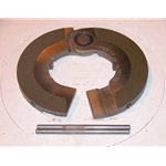SCB2-1.75L Clutch Brake: Lipe 2 Piece - 1-3/4 in.