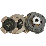 108925-82 New Spicer Style EZ-Pedal 15-1/2 in. (380mm) Pull-Type 2 in. Spline 7 Spring 4 Ceramic Super Button Clutch Set