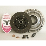 04-021.2SB Stage 2 Heavy Duty Clutch Kit with Steel Back Facings: Camaro Cutlass El Camino Firebird Monte Carlo Regal Skylark - 10-1/2 in.