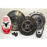 02-212CK Solid Flywheel Clutch Conversion Kit: Audi TT Quattro, VW Beetle Golf Jetta 1.8L Turbo - 9-1/2 in.