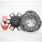 WCCS12FRCB Wood Chipper Clutch Kit with 12 in. Rigid Ceramic Button Disc: Ford Engines