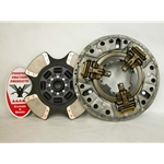 107350-1A New Spicer Style 14 in. (350mm) Angle Ring 1-3/4 in. Spline 4 Ceramic Super Button Hino Clutch Set