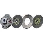 107034-32A New Spicer Style 14 in. (350mm) Pull-Type Angle Spring 2 in. Spline Coaxial Organic Clutch Set
