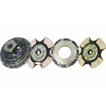 107237-24 New Spicer Style 14 in. (350mm) Stamped Pull-Type Angle Spring 2 Plate 1-3/4 in. Spline 4 Ceramic Super Button Clutch Set