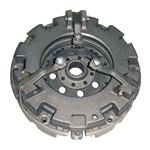 AGC320110 New PTO Clutch Assembly with Inner Clutch Disc for Ford Tractor - 9 in. Single Stage