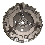 AGC320614 New PTO Clutch Assembly with Inner Clutch Disc for Ford Tractor - 9-1/2 in. Dual Stage