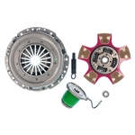 07955PCSC Exedy Stage 2 Ceramic 5 Paddle Racing Clutch Kit: Ford Mustang GT Bullitt Shelby 4.6L - 280mm