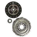 02-222 Solid Flywheel Replacement Clutch Kit: Audi A4, A4 Quattro, A6, A6 Quattro, 90, VW Passat 2.8L - 9-1/2 in.