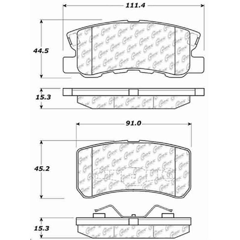 Pontiac GM OEM 06-09 Solstice-High Mount 3rd Third Brake Light-Lamp 15251244
